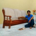 3D Sofa by G. Krishnadas Sharma
