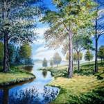 Landscape by Arun Mayengbam