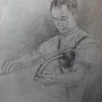 pencil sketch~ by golmei bliss